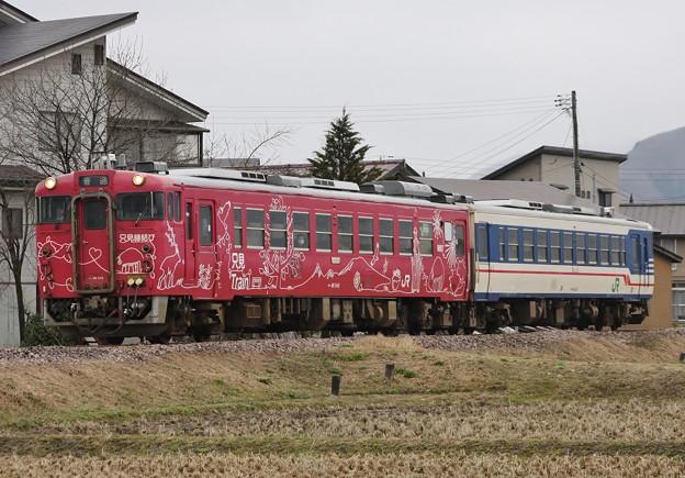 2423D 只見線 普通列車