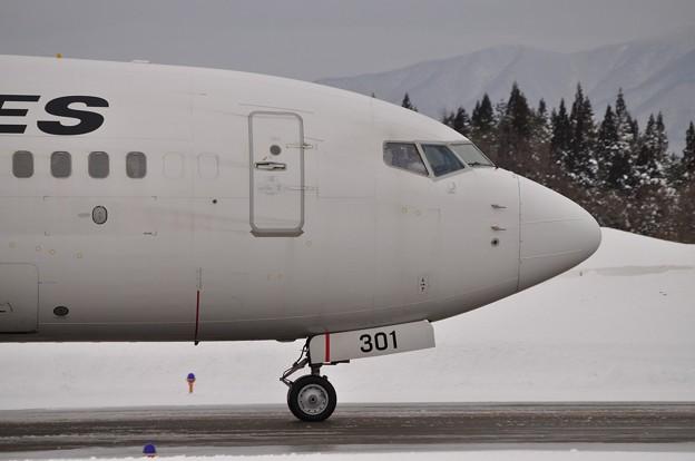 秋田空港 JAL 17-01-28 16-08