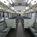 写真: 男鹿線キハ40(ワンマン対応)車内