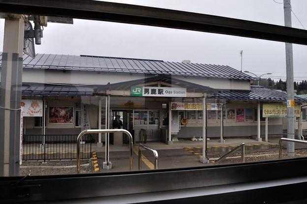 男鹿線キハ40乗車の旅 18