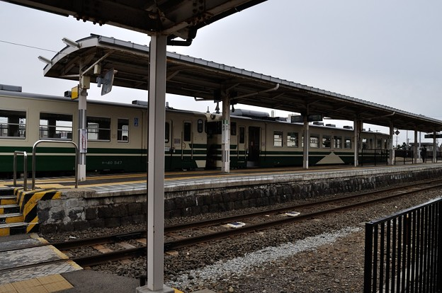 男鹿線キハ40乗車の旅 21