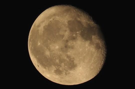 今夜のお月さま~♪