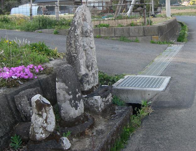 足利市田島町の庚申塔