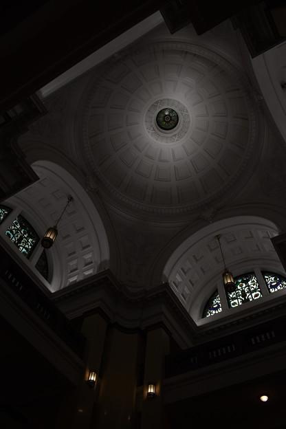 写真: 天井