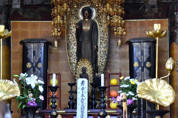 豊田市高月院内、家康母親が日々拝んでいた仏像