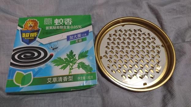 中国の蚊取り線香