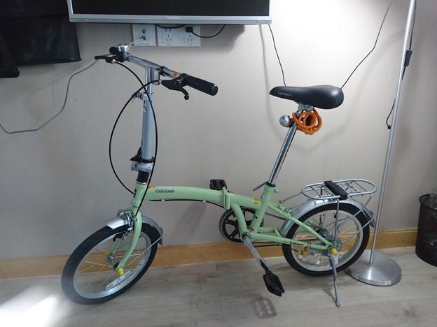 GIANTの折り畳み自転車