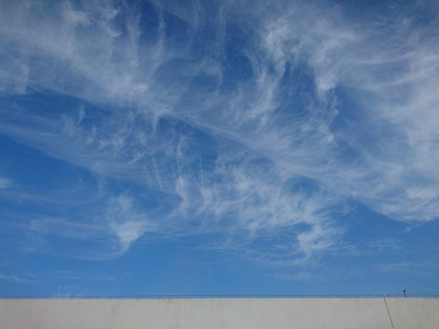 雲がいっぱい