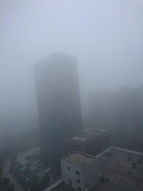 霧に~巻かれ~静かに起きる~