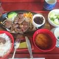 青島牛のフィレステーキ定食
