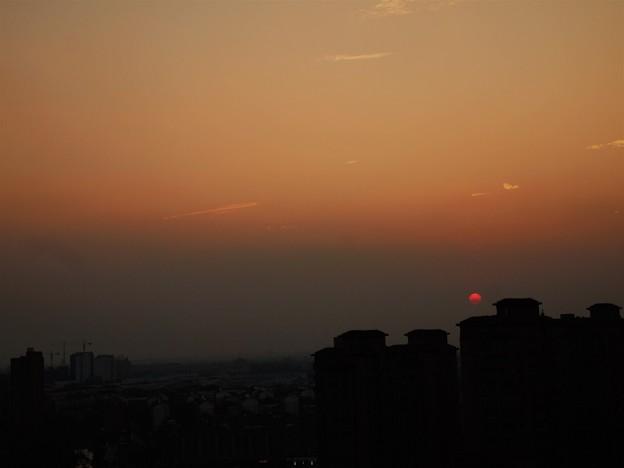 15Fの夕陽
