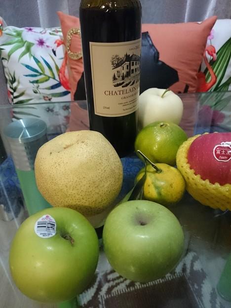 青リンゴと梨