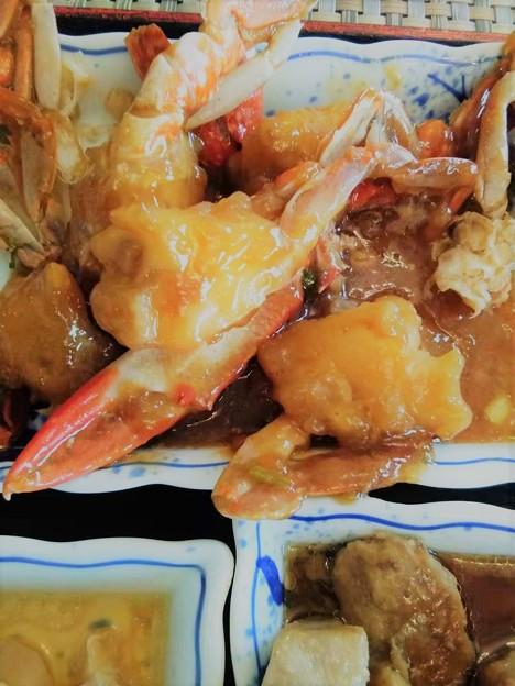 今日のVIP食堂(自称)は蟹