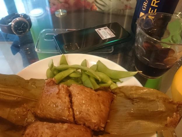 今日は粽を食べる日