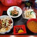 カツ丼 健康定食