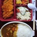 Photos: チキンカレーとんかつ