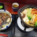 鴨南蕎麦とちゃんこ鍋