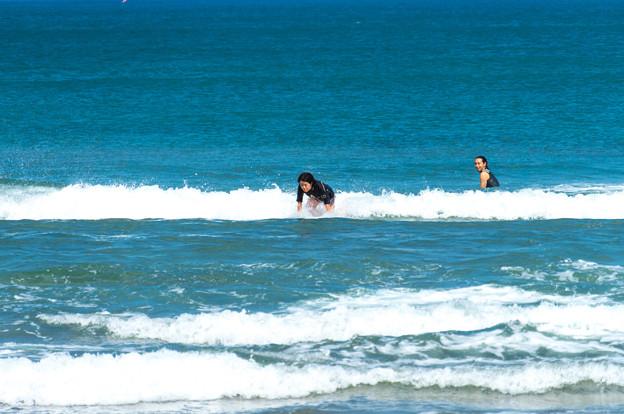 写真: 海の日サーフィン-01888