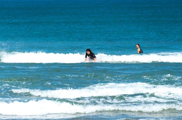写真: 海の日サーフィン-01887