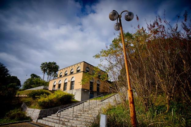 秋 緑地公園散歩 鶴見緑地国際庭園 西アジアレストハウス