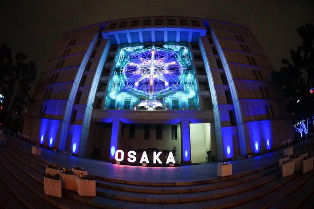 大阪 OSAKA 光のルネサンス2020 中之島公園