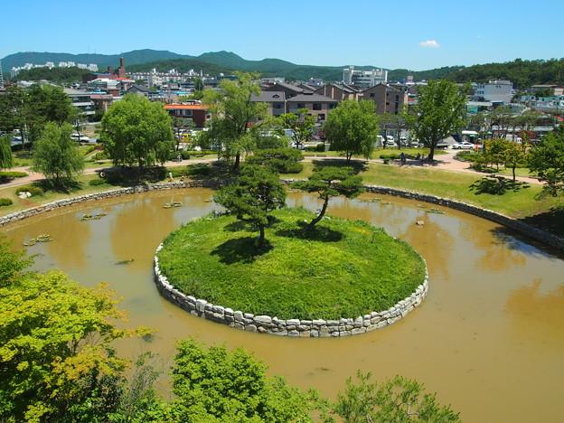 水原訪華随柳亭からの眺望 -水原華城-/View from Suwon Banghwasuryujeong -Hwaseong Fortress-
