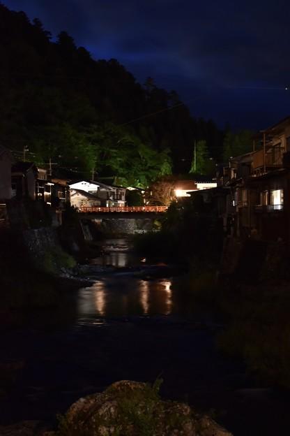 七夕の洞川温泉