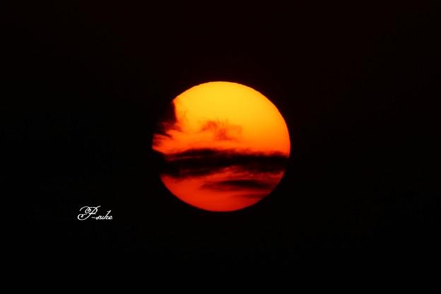 ♪空に燃えてる~ でっかい太陽♪
