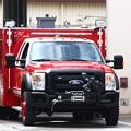 写真: 緊急車両
