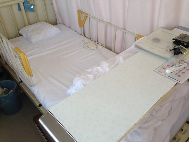 6日間 世話になったベッド