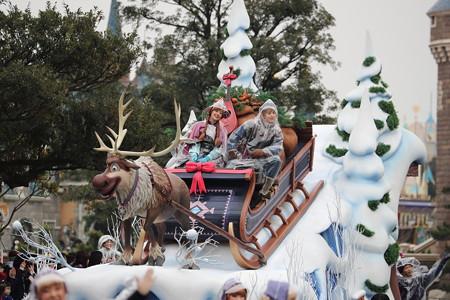 アナ雪パレード1