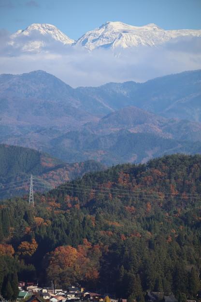 山と山の向こう側