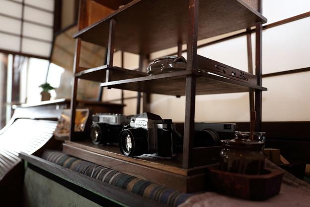 写真: 菊泉の店内。