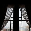 写真: 窓からの景色