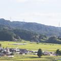 田園景色・・・