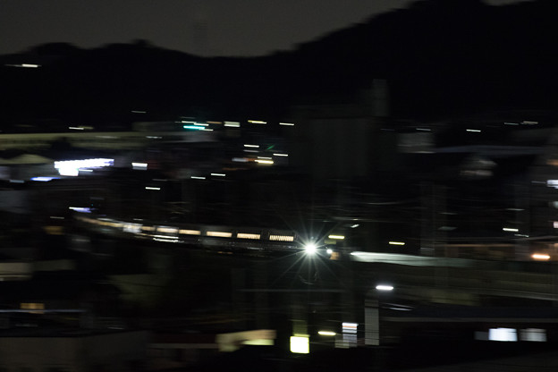 夜を走り抜ける!