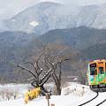 Photos: 行く先は雪景色