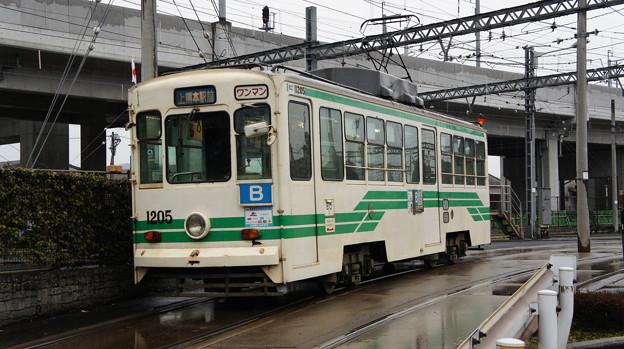熊本市電 1205