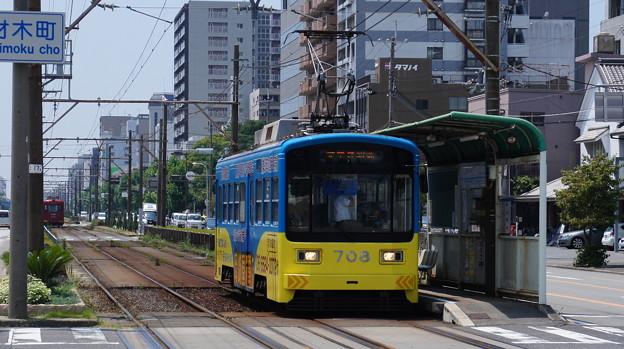 阪堺電軌 708