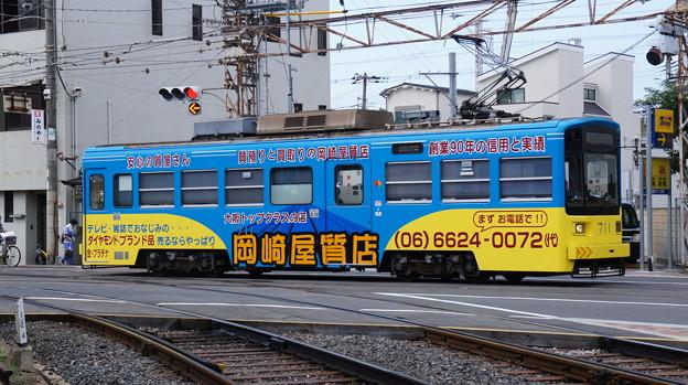 写真: 阪堺電軌 711