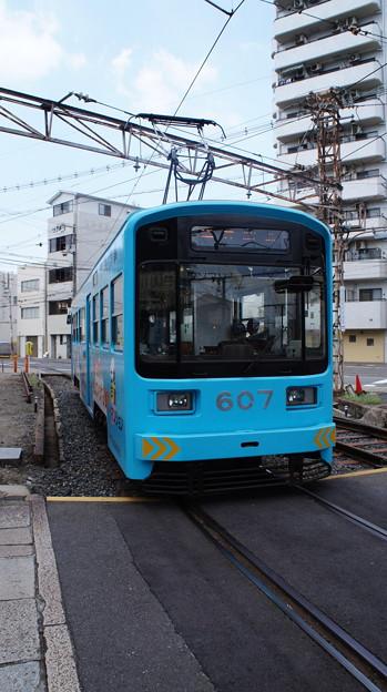 写真: 阪堺電軌 607