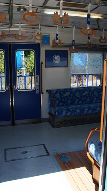 南海 7100系 7167F 車内