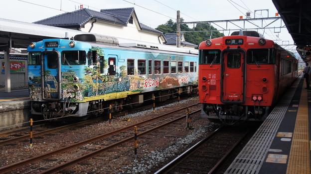 キハ40 2007とキハ40 2046