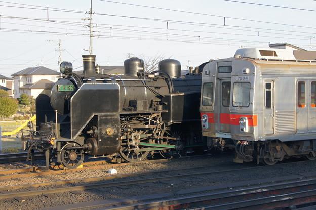 大井川鐵道 C11 190と7200系