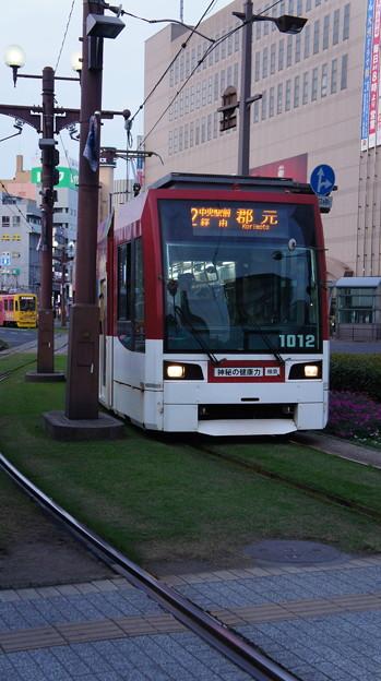 鹿児島市電 1012