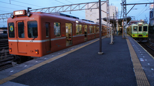 養老鉄道 600系 D06と610系 D13