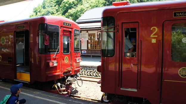 長良川鉄道 ナガラ300形 301と302