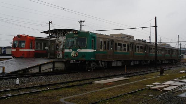 岳南電車 7002と8001