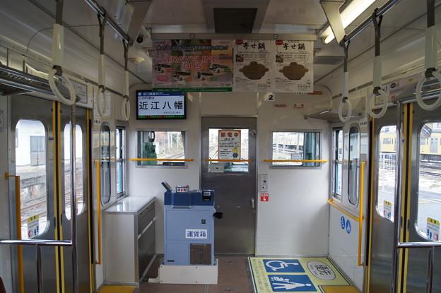 近江鉄道 100形 102F 車内
