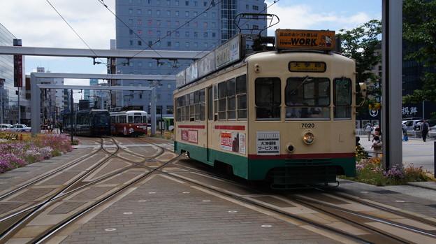 富山地鉄 7020